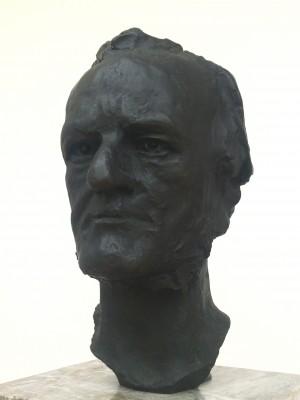 Bust of Richard Wagner by Max Klinger.