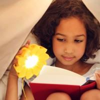 Little girl reading. Foto: Franziska Russo