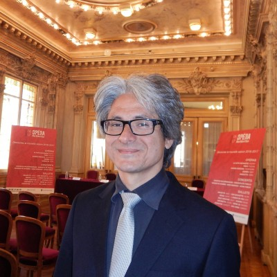 Giulio Magnanini is the chorus director