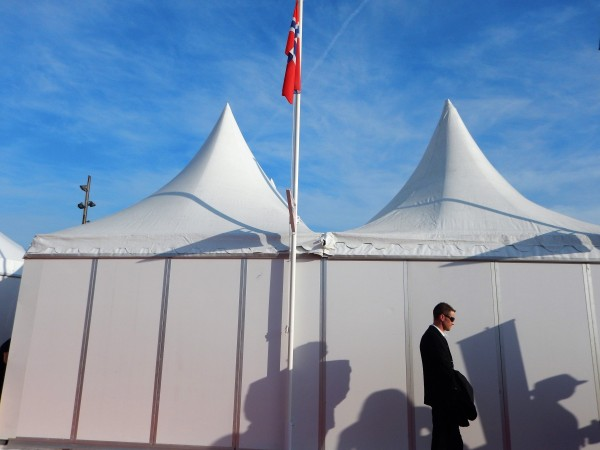 The Norwegian Pavillion – out of business! Photo: Torkil Baden