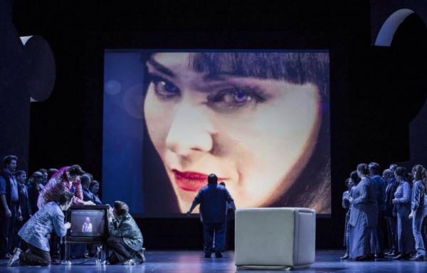 Elizabeth Blanche-Biggs as Turandot. Foto Erik Berg