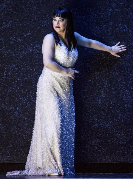 Turandot - Elizabeth Blancke-Biggs, foto Erik Berg