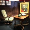 Interior idea from the cell of Marquis de Sade, which is being auctioned today at Drouot, Paris. Foto Henning Høholt