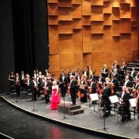 Conductor, Zubin Mehta,Soprano, Diana Damrau, Orchestra del Maggio Musicale Fiorentino at Opera di Firenze, Italy.2016 June 9th.  Photo: Maggio Musicale Fiorentino