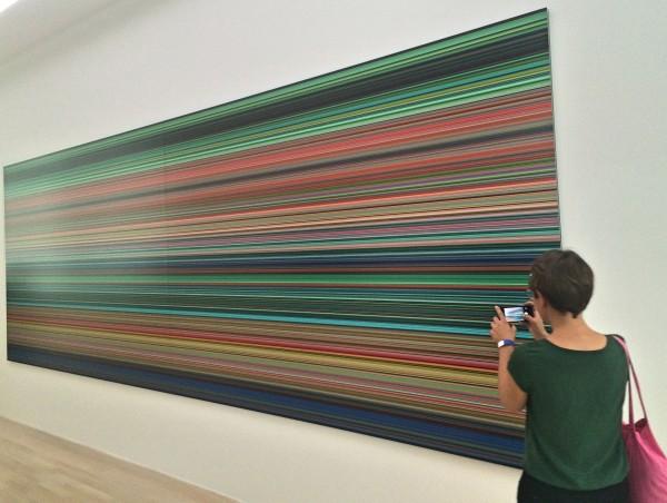 Gerhard Richter: Stripes. Foto Tomas Bagackas.