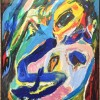 """Asger Jorn (1914-1973) is present with Too much talk - """"Man spright so viel"""" from 1968, oil on canvas. Foto Tomas Bagackas"""