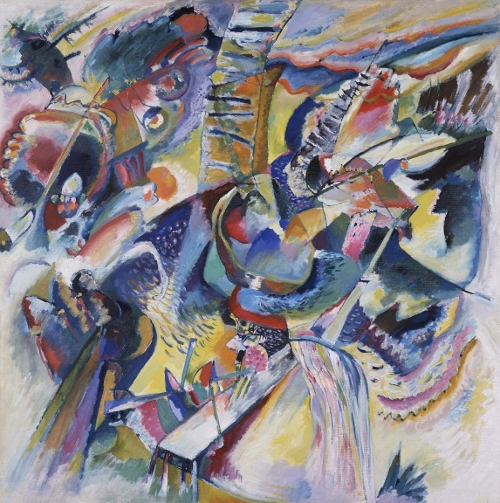 Wassilij Kandinsky, Improvisation from 1914. Foto: Lenbachhaus