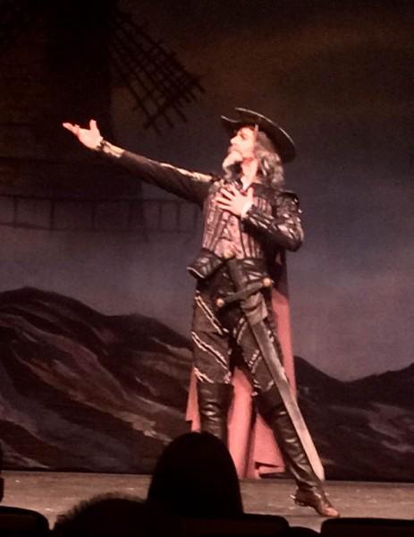 Gleb Koralev as Don Quixote. Foto Henning Høholt