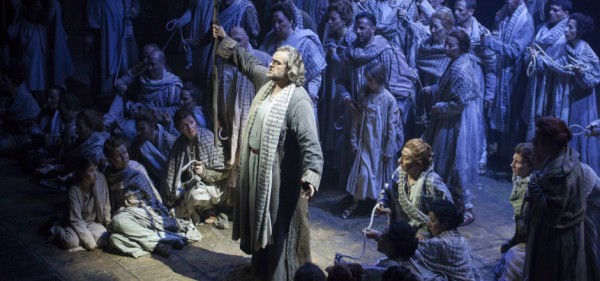 Nabucco in Firenze. Zanellato and chorus