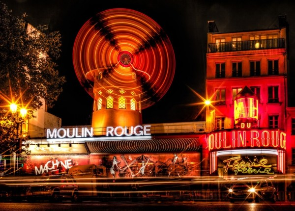 Moulin Rouge - The Red Mill.