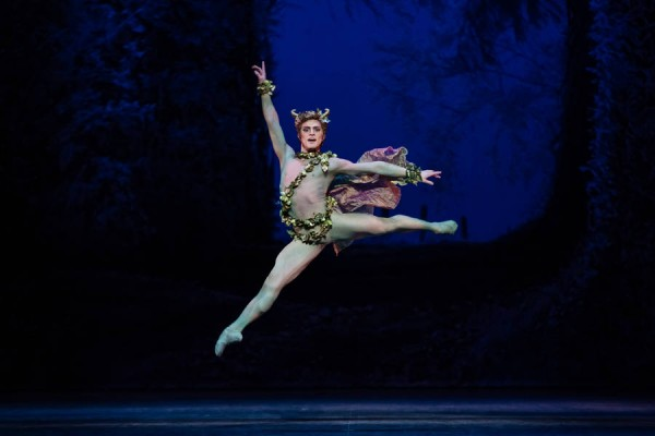 Puck was well presented by the amusing and virtuose Hugo Vigliotti. One of the roles, together with Bottom, that it is told that Balanchine, him self, loved to rehearse.