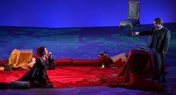 Manon Lescaut: STANISCI, and BOLOGNA photo: Augusto Bizzi