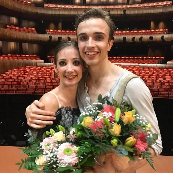 Julie Gardette og Douwe Dekkers, New Principals at the Norwegian National Ballet  . Foto: ErikBerg (?)