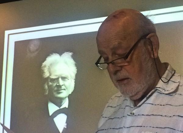 Henrik Ibsen og Torkil Baden