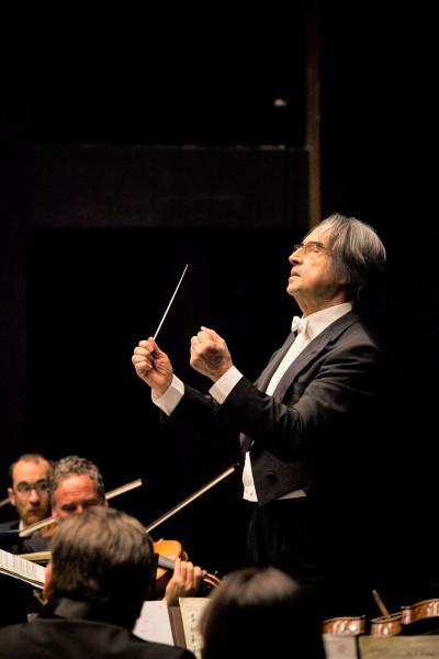 Riccardo Muti in Firenze. Photo: Pietro Paolini