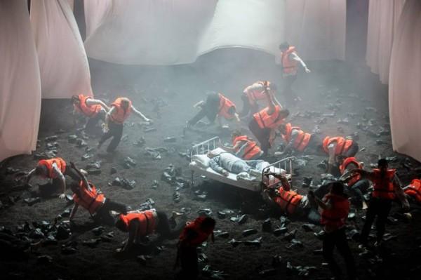 Idomeneo, ensemble. foto Michele Borzoni, Terraproiect Contrasto