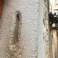 Girona jewish quarteer, door detail, spain