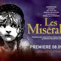 Les Misérables har premiere påFolketeatret fredag 8. September 2017. Foreløbig melder teatret at 75.000 billetter er solgt.