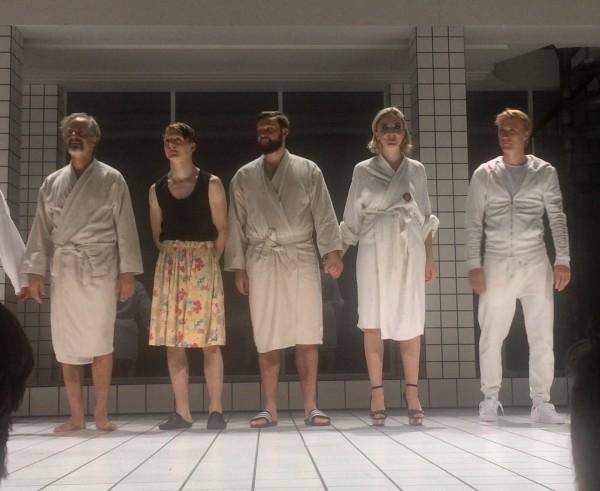 Fra venstre Øystein Røger, Jonas Strand Granli,  Birgitte Larsen,, Tarjei Westby, Thorbjørn Harr.