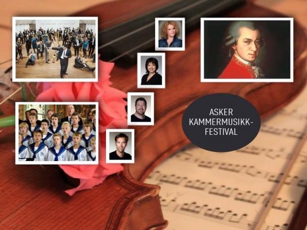 Mozart i Asker og Oslo.