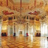 The Grand Hall in Coburg's Schloss Ehrenburg, the home of Prince Albert. Photo Tourismus Coburg.