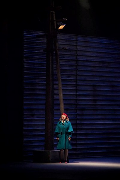Opera di Firenze. Premiere de la Carmen. Giordano as Michaela.